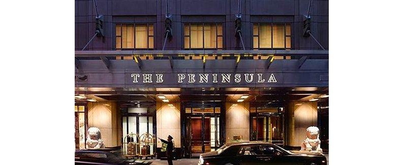 芝加哥半岛酒店(the peninsula chicago)
