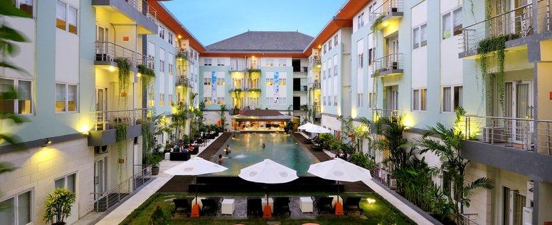 库塔河滨哈里斯酒店(harris hotel & residences riverview kuta)