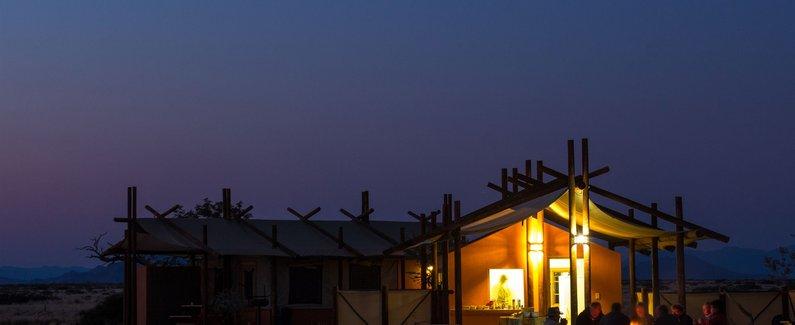 沙漠夜景图片素材