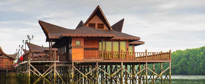 西巴丹岛红树林渡假村(sipadan mangrove resort)