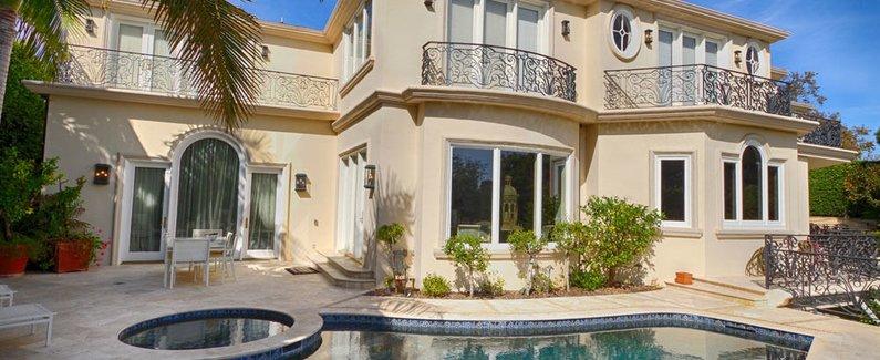 太平洋帕利塞兹法国庄园酒店(pacific palisades french manor estate