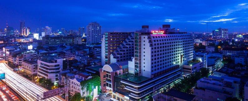 【双子塔酒店(twin towers hotel)预订】曼谷双子塔