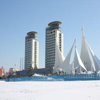 威海国际海景城公寓酒店(动车威海北站海水浴场店)图片0