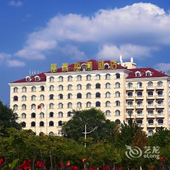 大路评论烟台丽景海湾酒店 酒店大堂虽然不大,但