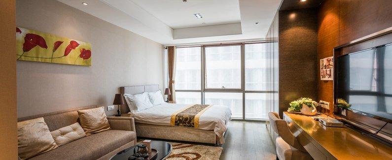 宇琴海邮轮母港海景度假公寓(青岛中联自由港湾店)