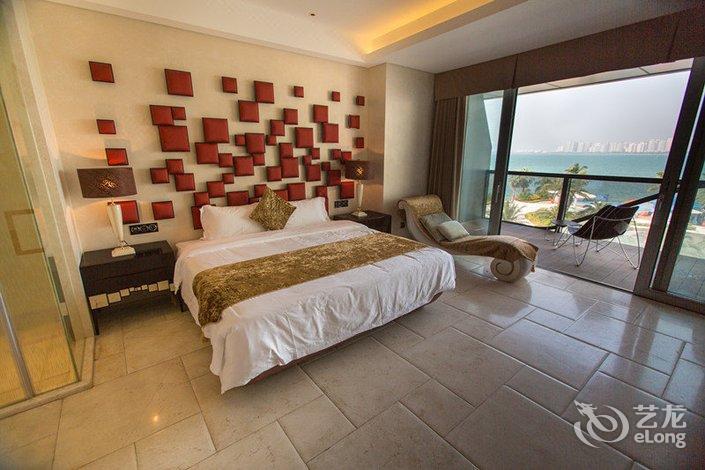 三亚凤凰岛大总统v公寓公寓三亚湾店人心理别墅的买图片