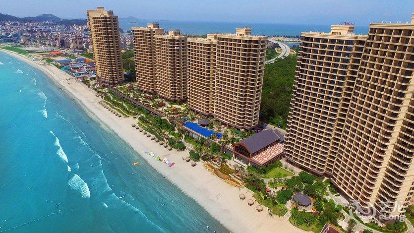 Baoan Rainboway Resort Hotel Booking Shuangyuewan Seaside Resort Gangkou Town Nianshan