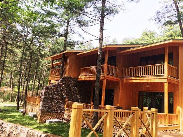 洛阳白云山森林木屋度假酒店