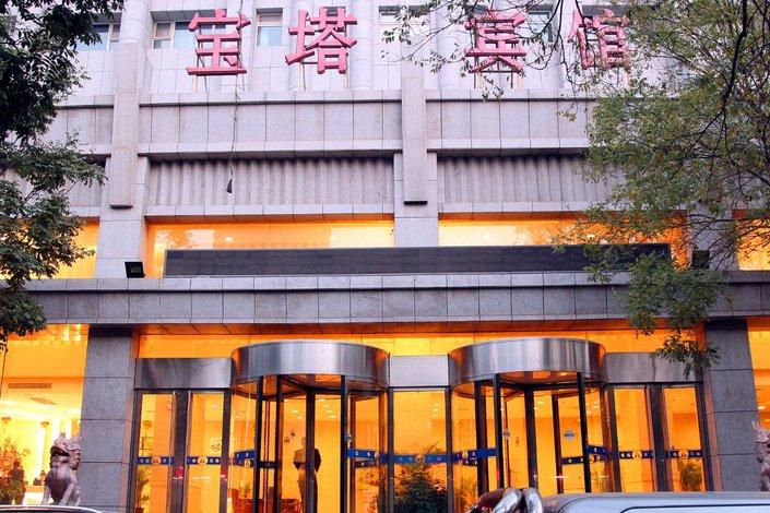酒店 银川市酒店  银川宝塔宾馆
