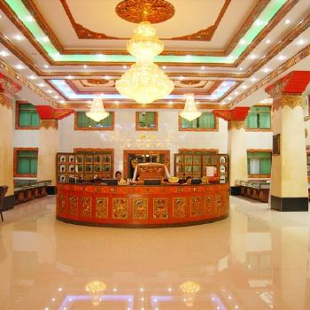 Lhasa River Hotel - Lhasa--Lobby/ Reception picture