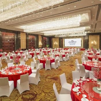 酒店列表 青岛康大豪生大酒店  共张图片餐厅 商圈:黄岛区/金沙滩海水