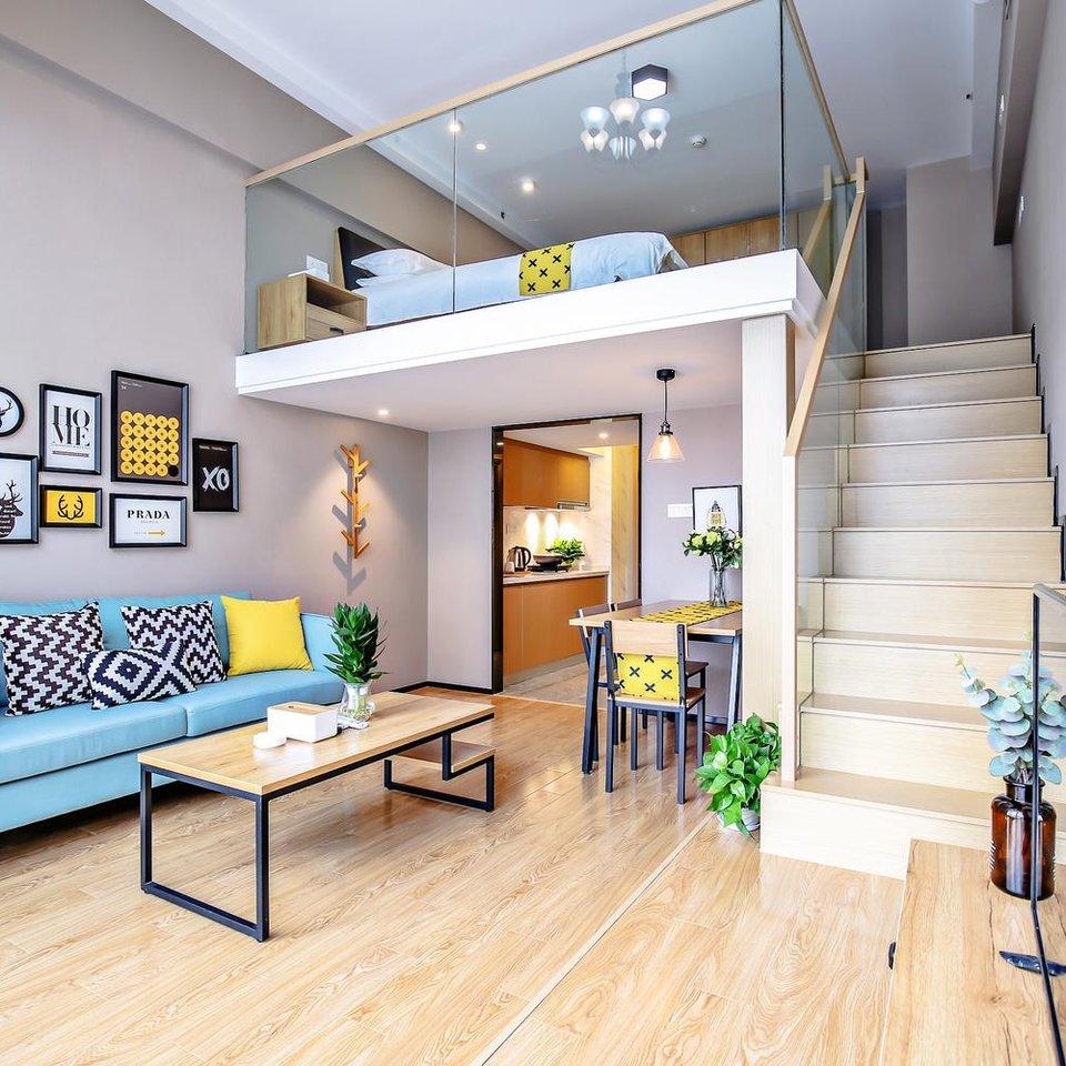杭州米粉loft公寓酒店(西溪湿地海创园店)