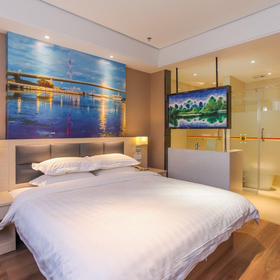 背景墙 房间 家居 酒店 设计 卧室 卧室装修 现代 装修 960_960