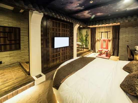 秘岸情趣酒店(杭州城西银泰店)抓椅鱼椅用情趣怎么八图片