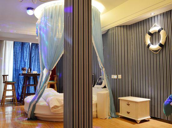 石家庄丘比特酒店情趣视频美女托主题胸情趣图片