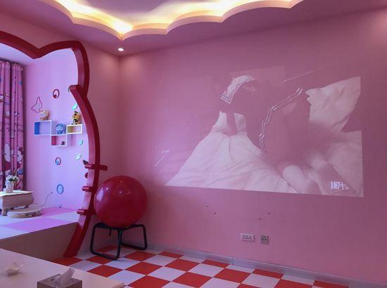 蜗居自助式主题连体酒店(长春光华大全店)学院图片情趣情趣内衣图片