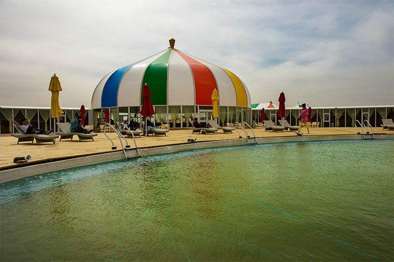 达拉特旗响沙湾福沙岛度假村