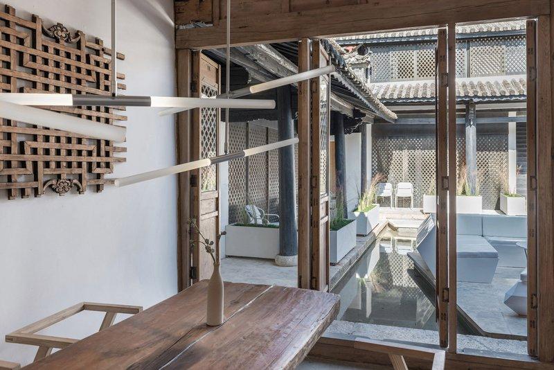 花筑丽江光隐设计师酒店描写景观园林设计语录图片