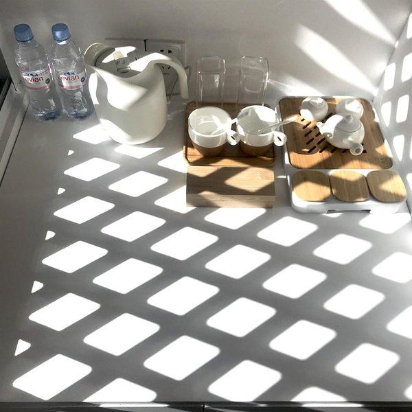 花筑丽江光隐设计师黑白室内设计酒店手绘平面图图片