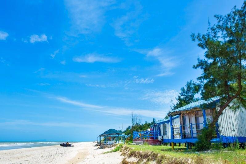 北海涠洲岛碧海阳光贝壳沙滩度假村