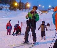 【芬兰冬天6】在极夜天空下雪地撒欢儿
