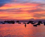 【原创】越南美奈:风情渔村最美?#21335;?#38451;海湾