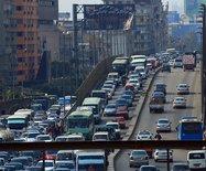 【埃及】街头印象:只要能开就上路行驶
