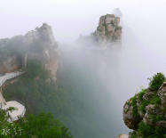 距京3小时车程的河北涞源小张家界,尽揽峰林怪石绝壁峡谷云海佛光!