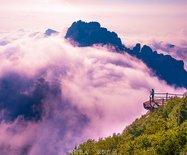 河北|北京城郊藏着一座夏天只有21℃的白石山,奇峰云海如黄山竟鲜有人知