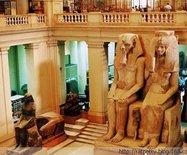 它是中东第一座博物馆,有170个木乃伊,600具棺椁