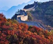 【北京】秋色燃遍红叶岭?红叶辉映古长城