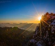 雪后黄山日出,一生不可错过的美景