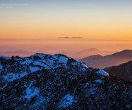 雪后黄山,如同一幅巨型水墨画让人留恋万千