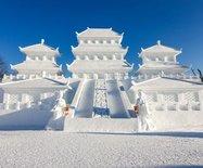 冬天就该去长春,一边看雪雕、一边玩越野滑雪