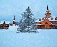 圣诞节去哪儿过?漠河北极圣诞村是好选择