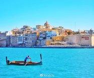 两种颜色,就让马耳他美如天堂