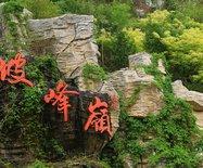#美在春天#京西幽岚山似云如烟的黄栌花染红山岗