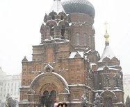走进三月,一场大雪降临哈尔滨