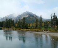 漫步在加拿大落基山脉班夫小镇