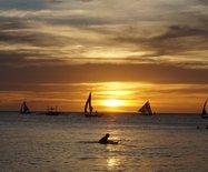 长滩岛日落与夜晚—2018菲律宾之旅(7)