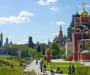 俄罗斯莫斯科,东欧最美的花园城市,有花有树有音乐