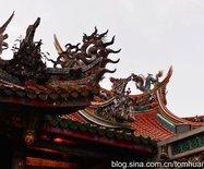 新年走台湾:台北艋舺龙山寺