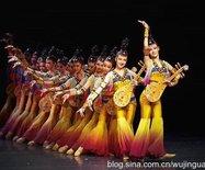 活灵活现的民族舞蹈,敦煌?#21830;?#26790;(图)