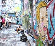 【澳大利亚】墨尔本涂鸦街,个性张扬的艺术小巷