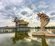 海岛游不安全?泰国好玩的地方多了,在小众的东北部,有个地方很魔幻