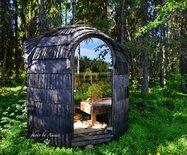 有一處藏匿黃色精靈的童話世界,在北極圈以內的芬蘭,終于被我找到了!