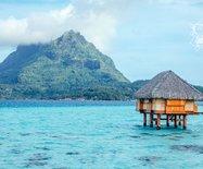 【大溪地】欣赏金色夕阳的绝佳点Bora-Bora-Pearl-Beach-Resort-&-Spa