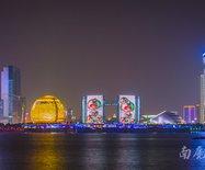 我爱你中国,这个中国红国庆灯光秀上央视了