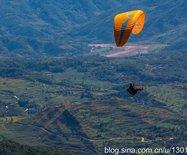 大理洱源鸟吊山,滑翔伞带你云端飞行