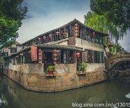 蘇州甪直古鎮,有七十二座半橋的水鄉